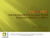 Harnessing OER to Develop Health Ed...