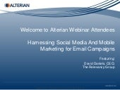 Harnessing Social Media and Mobile ...
