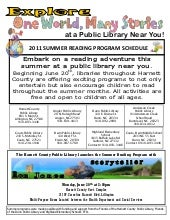 Harnett County Library Summer Programs