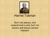 Harriet tubman by jaime feldstein