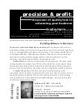 Precision & Profit: The Power of Quality Text in Advancing Your Business Press Release