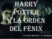 Harry potter y la orden del fenix  ...