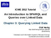 "Tutorial ""An Introduction to SPARQL..."