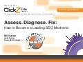 Assess. Diagnose. Fix: How to Become a Leading SEO Mechanic