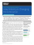 HBR- how mobility is changing the enterprise