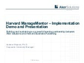 Harvard Manage Mentor And Leaders A...