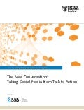 Harvard Business Review - The New Conversation Taking Social Media from Talk to Action