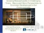 Growing Massachusetts in Challengin...