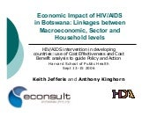 2006:Economic Impact of HIV/AIDS in...