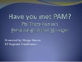 Have you met pam margo