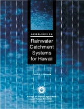 Hawaii Rainwater Harvesting Manual