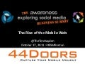The Rise of the Mobile Web - #ESMBoston Tim Hayden 10-17-2011