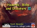 Hazards Risks Disasters 2