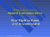 Hazard Communication Training by Ok...