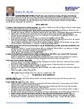 Harry Hecht Resume