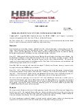 Highbank Appoints Ivan Scott, P. Eng. to the Board of Directors