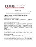 Hbk nr may 26 14 highbank reports  approvals  updates-swamp point north  oltc lng conferences agm  options final