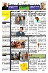 Hamdard business review: may 2010