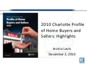 2010 Charlotte Profile of Home Buye...