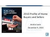 Webinar: 2010 NAR Profile of Home B...