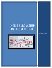 HCD Fellowship Program Interim Repo...