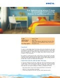 Retail Case Study: HCLT optimizes operational it costs for a leading home furnishing retailer through managed services