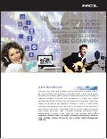 HCLT Case Study : HCL enables Strategic Transformation & Business focused Innovation for a leading Global Music Company
