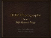 HDR Workshop