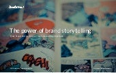 The power of brand storytelling [research]