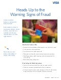Heads Up to the Warning Signs of Fraud