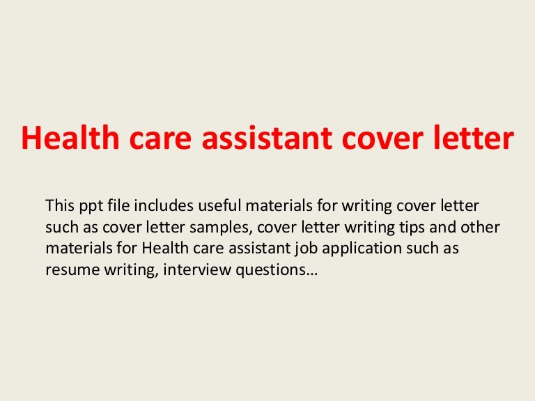 health care assistant cover letter healthcare cover letter template