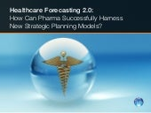 Healthcare Forecast Planning Models...