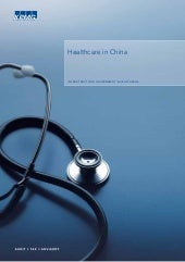 Healthcare in china