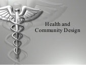 Health + Community Design