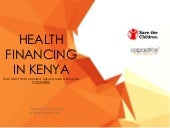 Health Financing in Kenya - The cas...