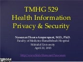 Health Information Privacy and Secu...