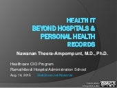 Health IT Beyond Hospitals