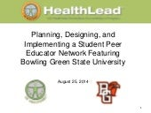HealthLead Student Wellness Part 2 with BGSU