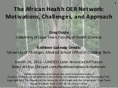 African Health OER Network - UNESCO...