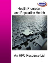 Health Promotion  and Population He...