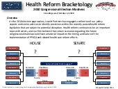 Health reform bracketology oct 7 [r...