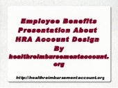 Featured HRA Plan Slides: Multiple ...