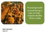 Healthy cities india v