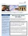 Hedge fund operational_due_diligence_insights_corgentum_january_2013