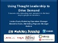 Avalara's Case Study on Using Thought Leadership Content to Drive Demand - 2013 B2B Modern Marketing Roundup