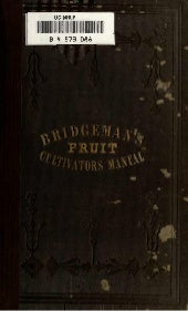 Bridgeman's Fruit Cultivators Manua...