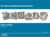 Helen Goulden: our future collaborative economy