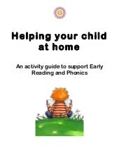 Helping your child at home