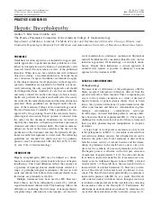Hepatic Encephalopathy - Medicina I...