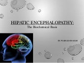 Hepatic encephalopathy: biochemical...